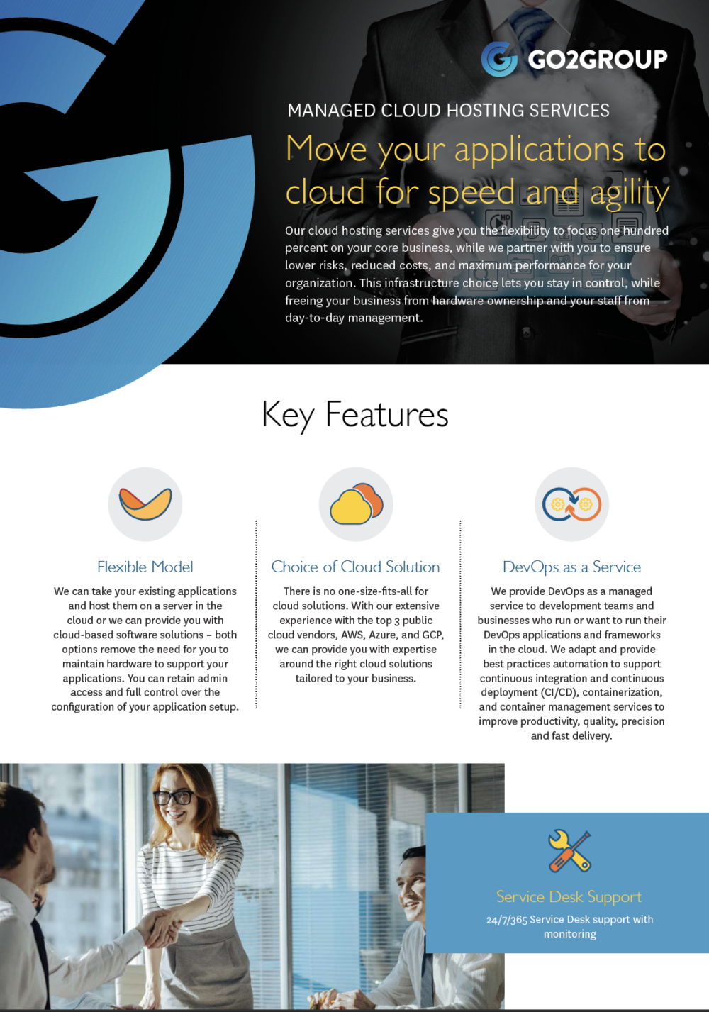 Go2Group Managed Cloud Hosting
